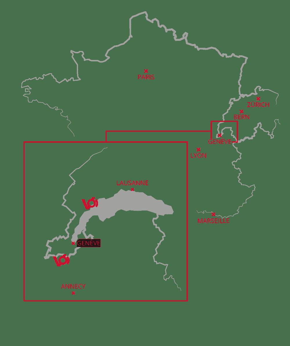 carte précisant l'emplacement de vecteurcom