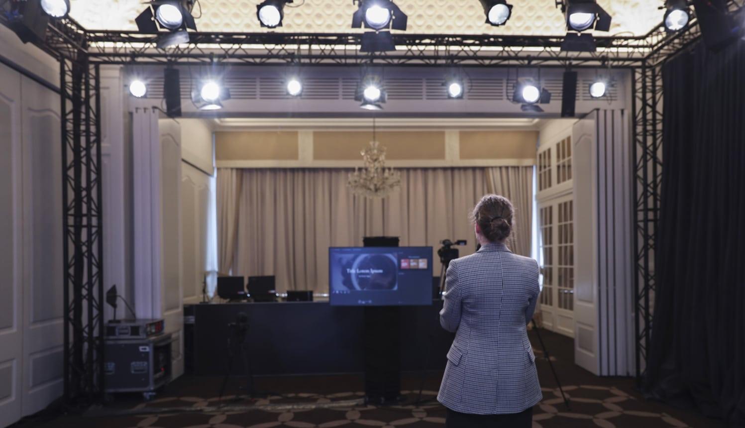 Studio Broadcast Lausanne Palace